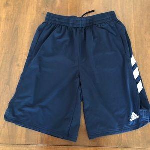 Adidas Navy Blue Shorts
